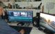 Henk van de Eertwegh aan het werk met filmpjes