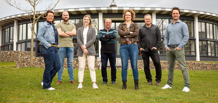 Teamfoto team communicatie Dorpsoverleg Baarlo
