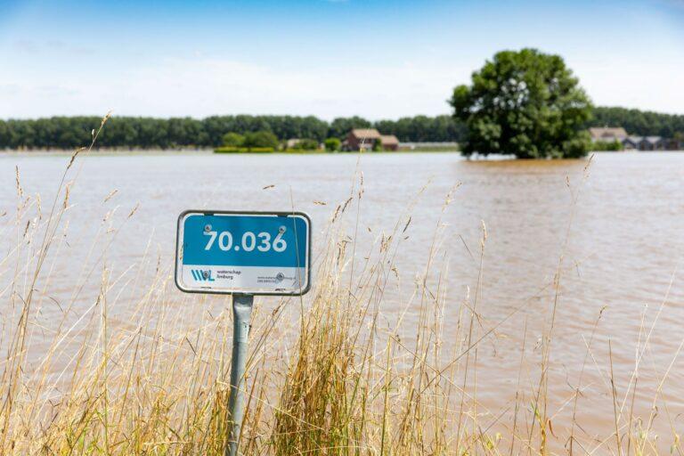 Persconferentie om 19.00 uur over de actuele situatie van het hoogwater
