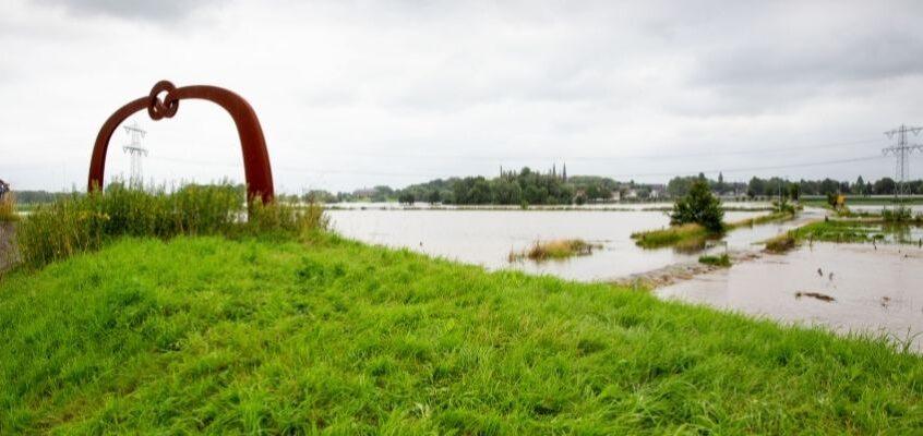 Afhandeling schade hoogwater Maas