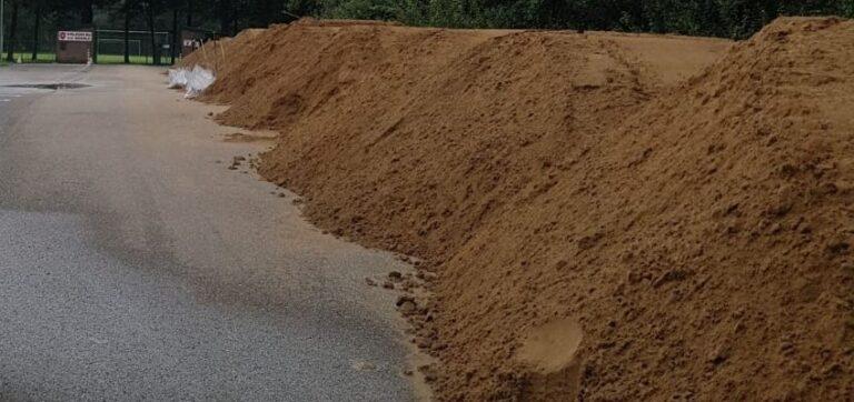 Zandzakken beschikbaar voor inwoners buitendijks