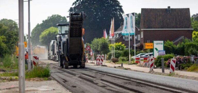 Werkzaamheden kruising Veldstraat – Braamhorst